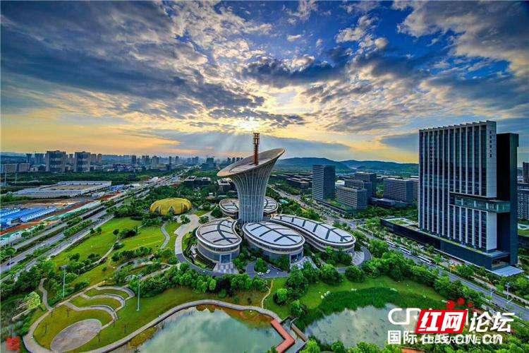 长江之光城市宣传海报